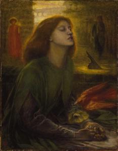 Beats Beatrix by Dante Gabriel Rossetti