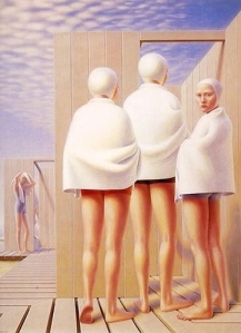 Bathers  by George Tooker